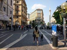 パドヴァの街並み